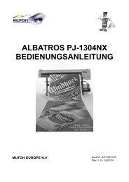 Albatros Operation Instructions - Mutoh