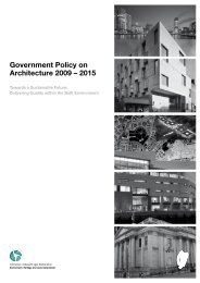 Government Policy on Architecture 2009 – 2015 - Department of Arts ...