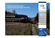 Präsentationen aus der PAG 2011 - Das Naturschutzgroßprojekt ...