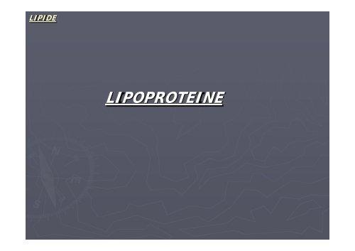 LIPOPROTEINE - Biochemie-trainings-camp.de