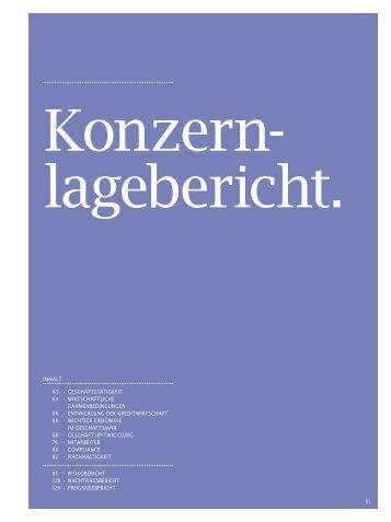 Der Geschäftsbericht 2007 - Geschäftsbericht 2007 - Landesbank ...