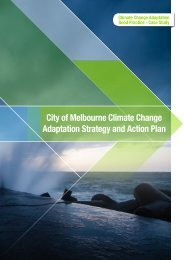 City of Melbourne Climate Change Adaptation Strategy and Action ...