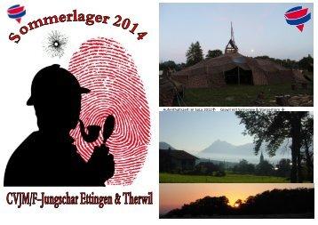 Aufenthaltszelt im SoLa 2012↑ Giswil mit Sarnersee & Stanserhorn ↓