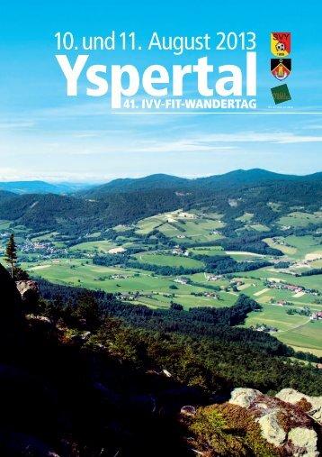 Programm zum Wandertag als PDF herunterladen - SV Yspertal ...