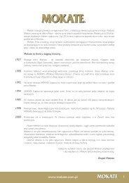 pobierz katalog w PDF - Mokate
