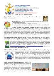 Informativo Semanal do dia 14 de Abril - Diocese de Erexim
