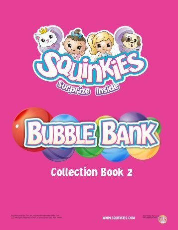 Collection Book 2 - Squinkies.com