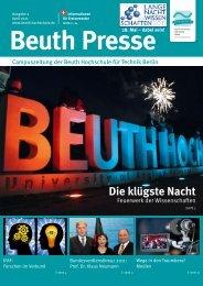 Die klügste Nacht - Beuth Hochschule für Technik Berlin