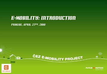 e-Mobility: Introduction - CEBRE
