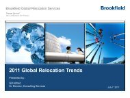 2011 Global Relocation Trends - Forum for Expatriate Management