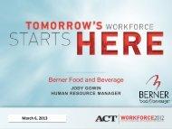 Creating a Workforce Ready Community, Jody Gowin