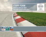 I TOPP FORM - Wirtgen Norway