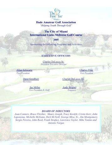Dade amateur golf association