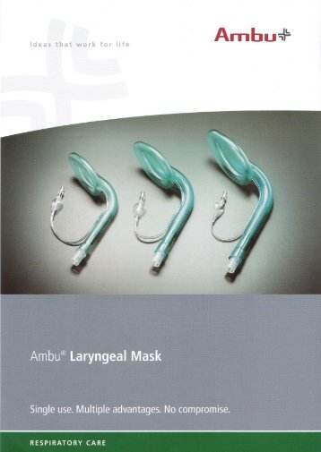 Laryngeal Mask data sheet.pdf - Reef Medical
