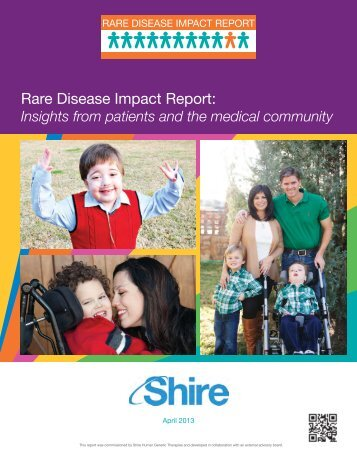 Rare Disease Impact Report: - Rare Disease UK