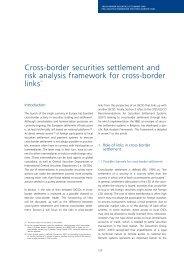 Cross-border securities settlement and risk analysis framework for ...