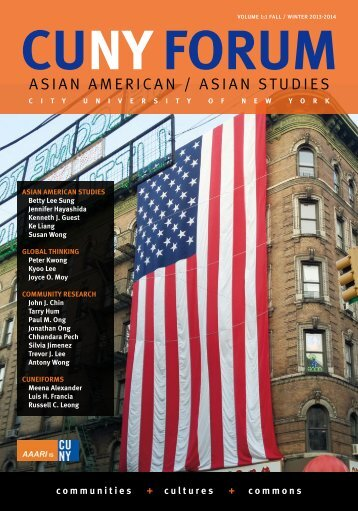 cuny forum - Asian American / Asian Research Institute