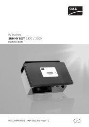 Wechselrichter Sunny Boy SB 2800i