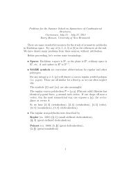Problems on Uniform Polyhedra and Related Groups for the ...