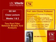 Z - USC Ming Hsieh Department of Electrical Engineering ...