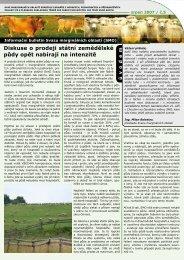 Informační bulletin SMO - Svaz marginálních oblastí