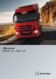 Actros 2041 S 4x2 - Mercedes Benz