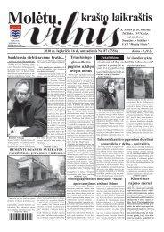 2010 m. lapkričio 16 d., antradienis Nr.87 - VILNIS