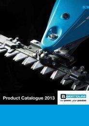 Product Catalogue 2013 - Bertolini