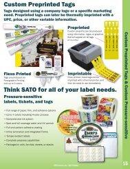 Custom Marketing Programs Catalogs Pot Stakes - United Label