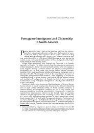 Portuguese Immigrants and Citizenship in North America - Lusotopie