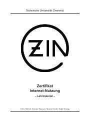 Zertifikat Internet-Nutzung - Petra Pönisch