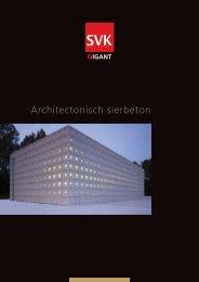 Architectonisch sierbeton - Architectura