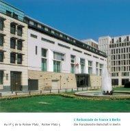 L' Ambassade de France à Berlin - Französische Botschaft