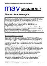 Merkblatt 7 Arbeitszeugnis - Diakonie im Oldenburger Land