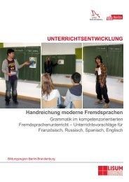 Handreichung moderne Fremdsprachen - Bildungsserver Berlin ...