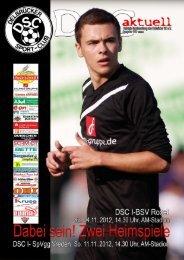 DSC Aktuell Nr.: 0154 / Ausgabe: 04.11.2012 - Delbrücker SC