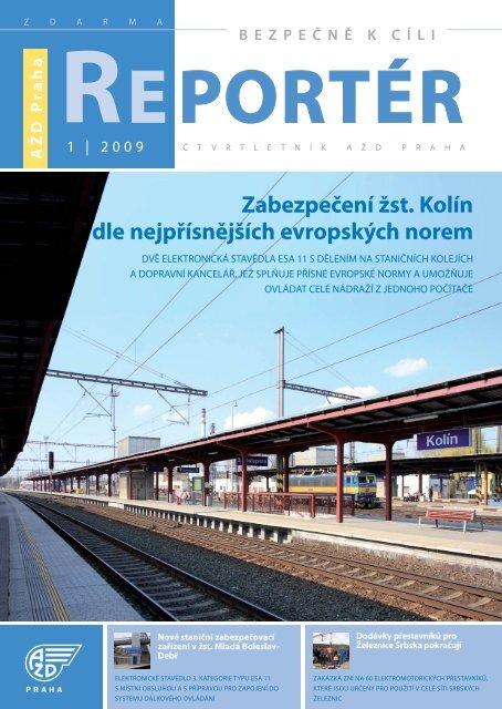 Reportér 2009/1 - AŽD Praha, sro