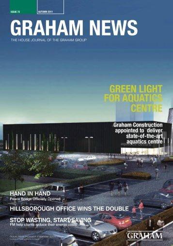 GREEN LIGHT FOR AQUATICS CENTRE - Graham