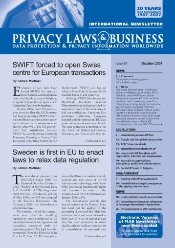 SWIFT forced to open Swiss centre for European transactions ...