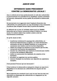 tract réforme des collectivités (PDF - 19.7 ko) - Fédération de l'Oise ...