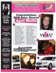April Weeks - Yes Unit