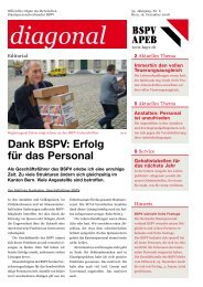 diagonal Nr. 6/08, Dezember (pdf) - BSPV