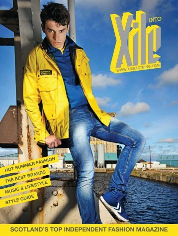 scotland's top independent fashion magazine - Xile Clothing