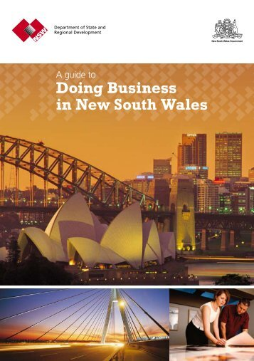 Doing Business in New South Wales - NSW Trade & Investment ...