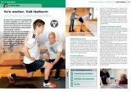 Gymnastik und Prävention