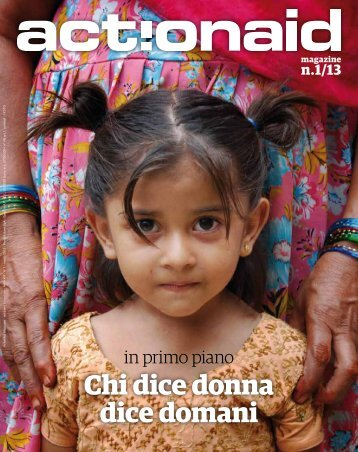 Chi dice donna dice domani - ActionAid