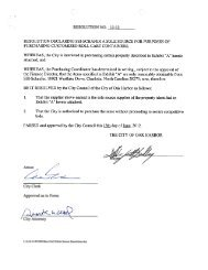 Resolution 12-12 Sole Source Purchase of Roll Carts - City of Oak ...