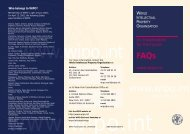 FAQs - WIPO