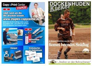 Saison 2011/2012 - Komet Blankenese