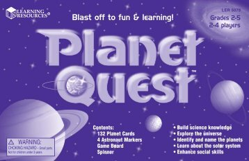 5079 Planet Quest Guide RVMP2 - Learning Resources